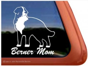Berner Mom Sticker