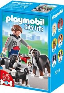 Playmobil Berner & Puppy